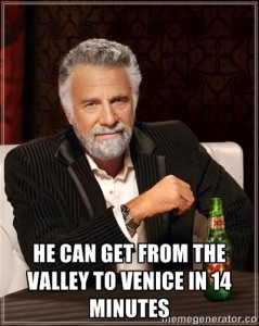 venice to valley
