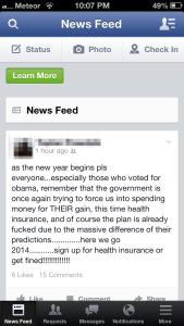 Obama Care Rant