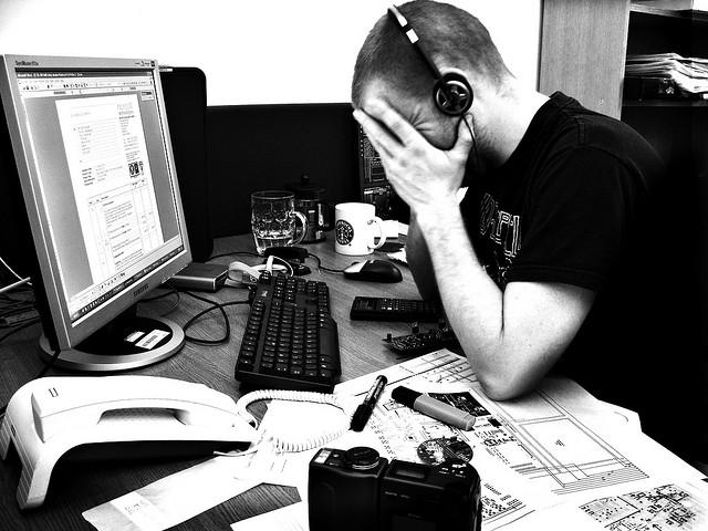work frustration