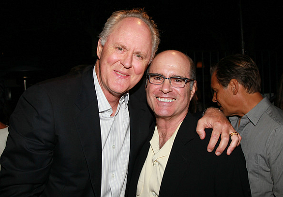 Clyde Phillips with John Lithgow